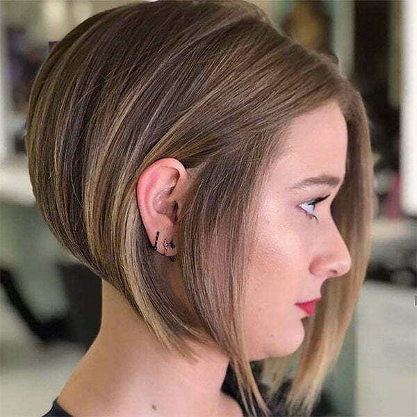 short hair women 2021
