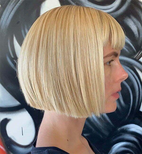 short haircuts for women blonde