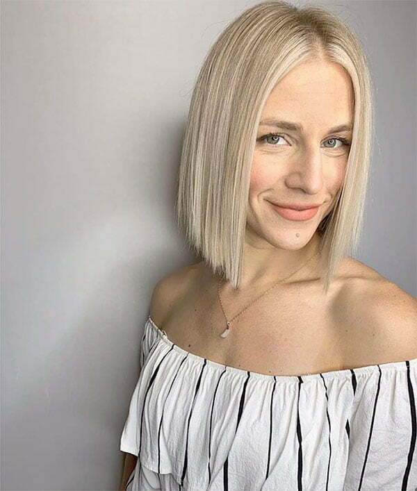 short hairstyles 2021 for straight hair