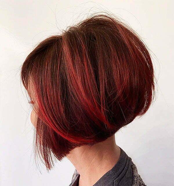 short red hair styles