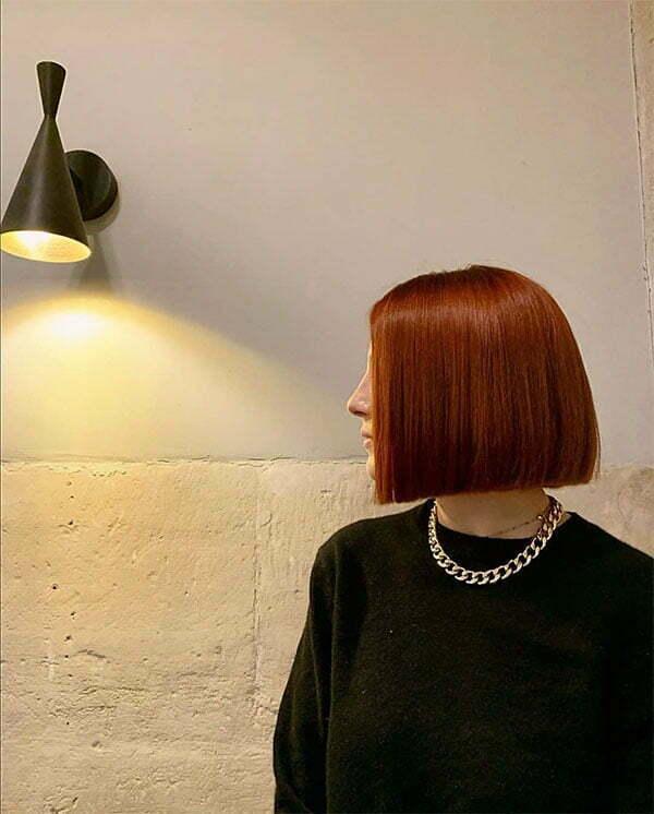 short red hair women