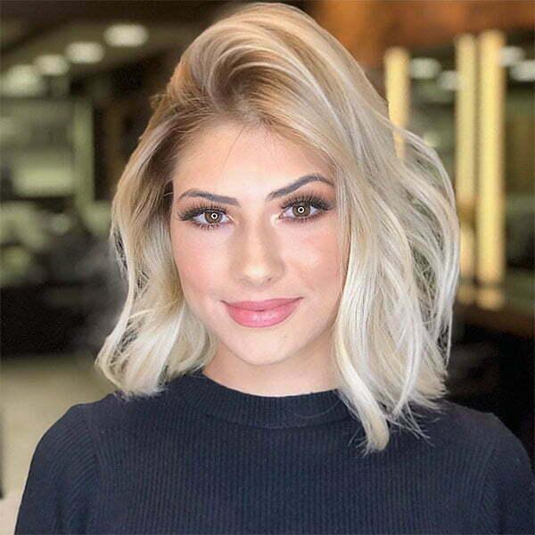 short short blonde haircuts