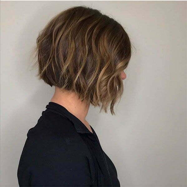 short wavy cuts