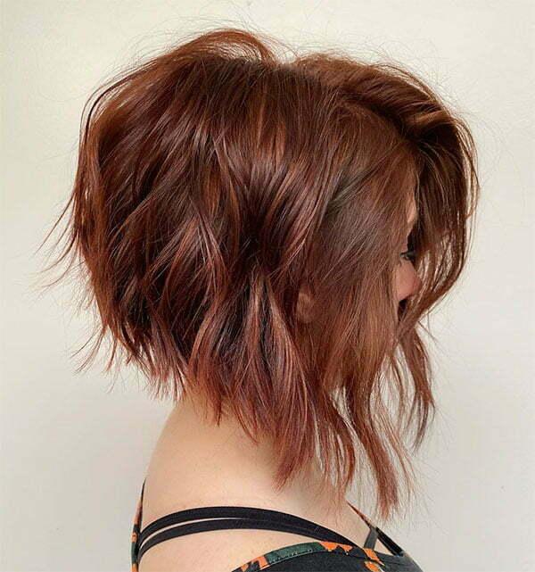 short wavy hair 2021