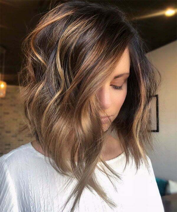 short wavy haircuts 2020