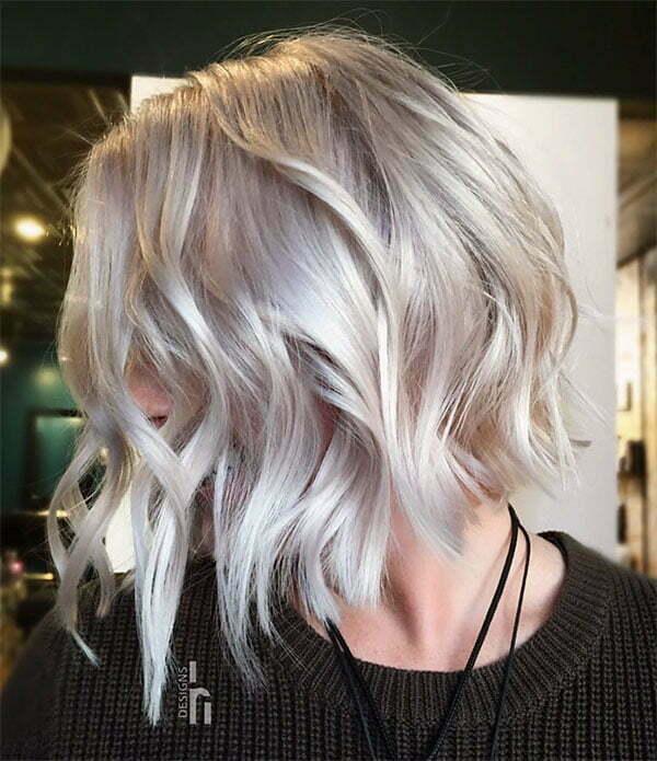 shorter hair styles for wavy hair