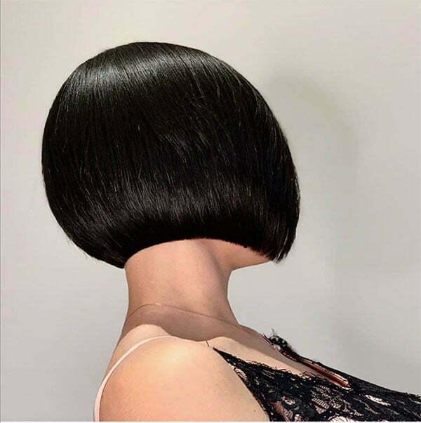 straight end haircut