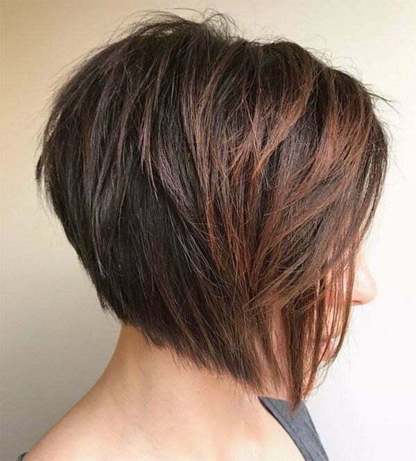 straight short hair hairstyles