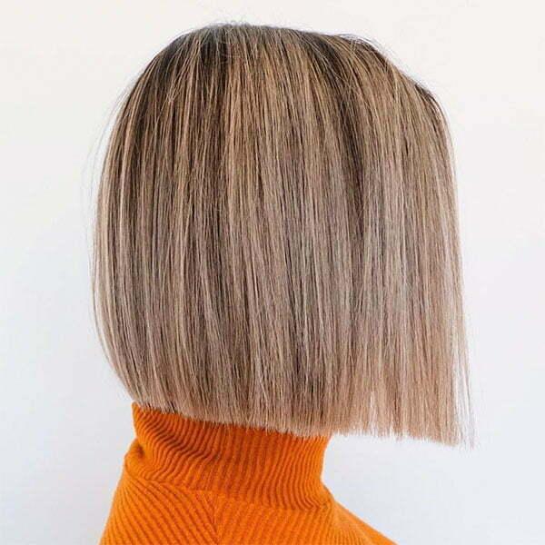 straight women's haircut