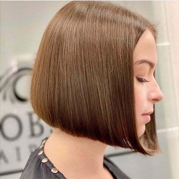 straightened hair hairstyles