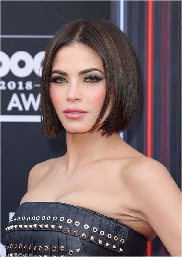straightened hairstyles