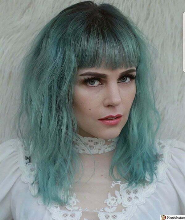 super green hair color