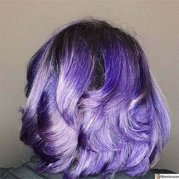 super purple hair