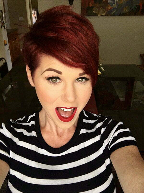 trending red hair color