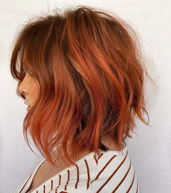 unique red hair