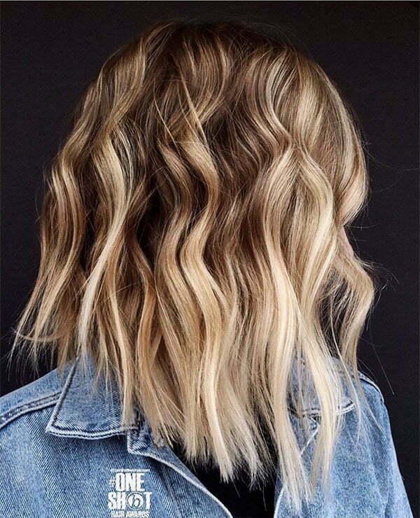 wavy cut hair 2021