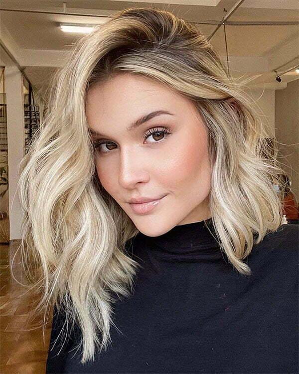 wavy hair cuts 2021