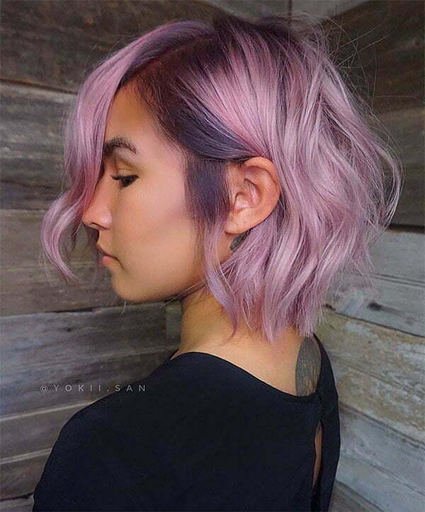 wavy short hair styles 2021