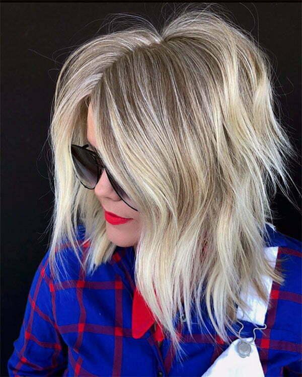 womens blonde haircuts