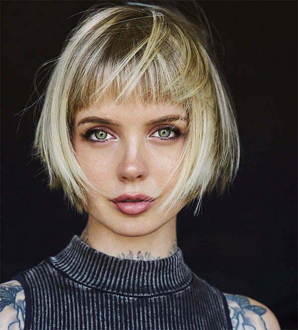 women's blonde short haircuts