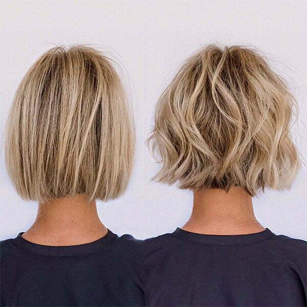 womens short blonde hairstyles