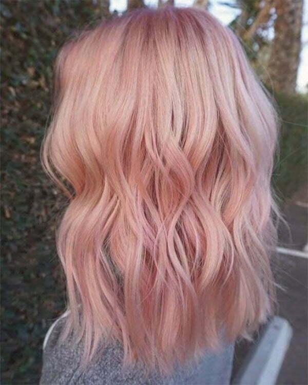 womens short pink haircuts
